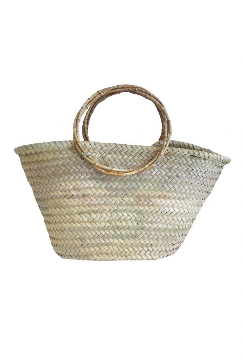 Bamboo Hasır Çanta
